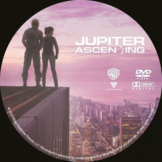 dvd cover Jupiter Ascending R0 Custom