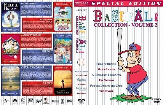 dvd cover Baseball Collection Volume 2