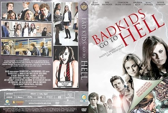 dvd cover Bad Kids Go To Hell