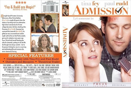dvd cover Admission