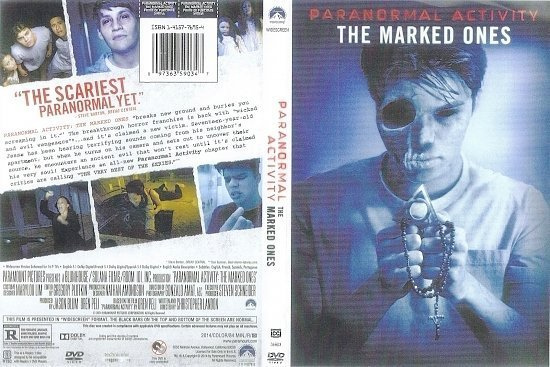 dvd cover Paranormal Activity: The Marked Ones R1