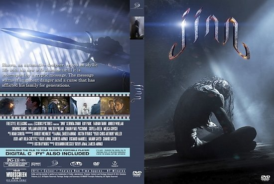 dvd cover Jinn R0 Custom