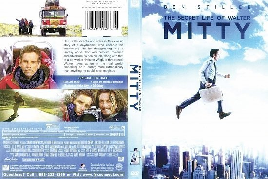 dvd cover The Secret Life Of Walter Mitty R1
