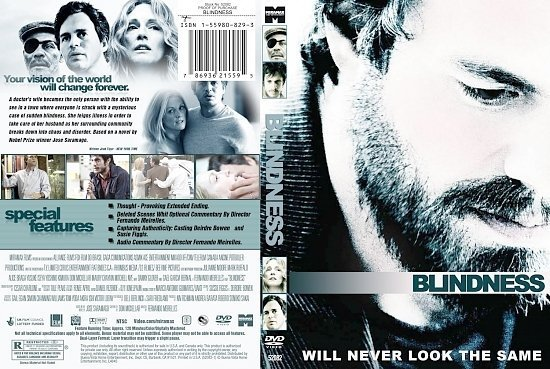 dvd cover Blindness