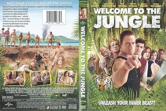 dvd cover Welcome To The Jungle R1