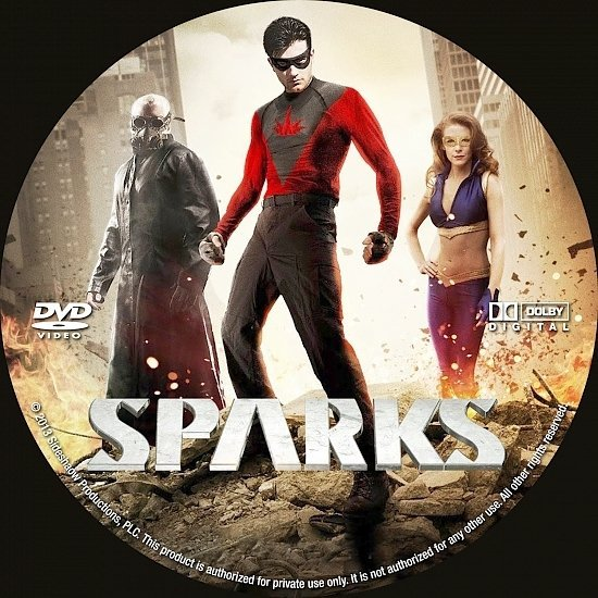 dvd cover Sparks R0 Custom