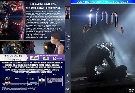 dvd cover Jinn R1 CUSTOM