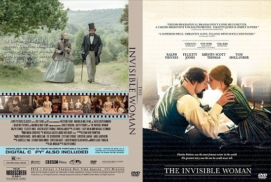 dvd cover The Invisible Woman R0 Custom