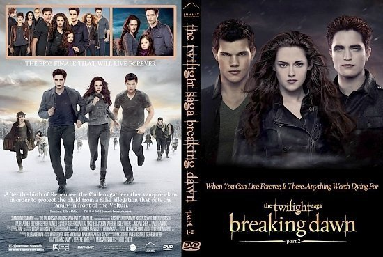 dvd cover Twilight Saga: Breaking Dawn Part 2 V3a