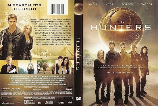 dvd cover The Hunters R1