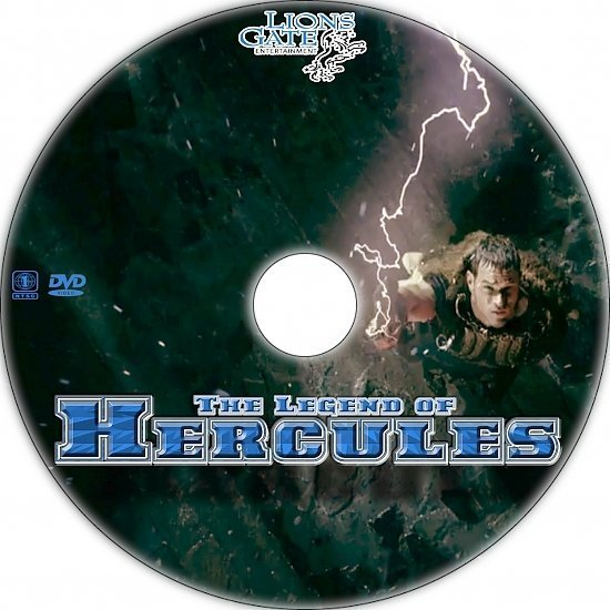 dvd cover The Legend of Hercules Custom DVD Label