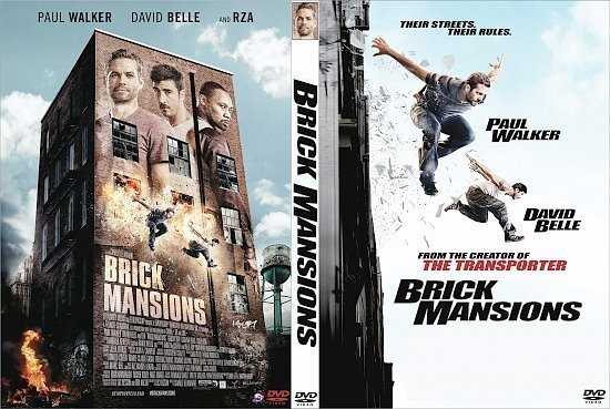 dvd cover Brick Mansions