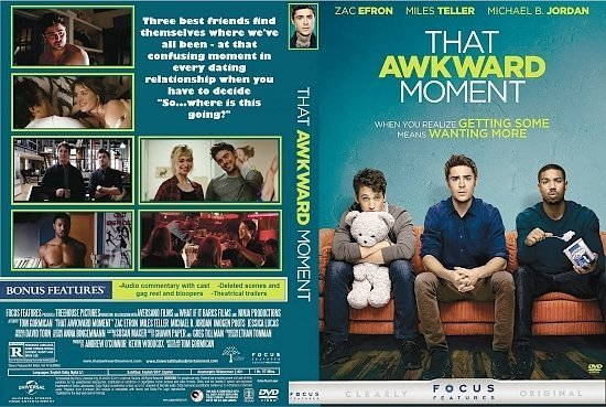 dvd cover That Awkward Moment R1