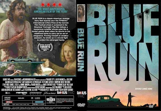 dvd cover Blue Ruin R1 CUSTOM