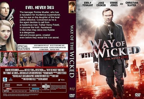 dvd cover Way Of The Wicked R1 CUSTOM
