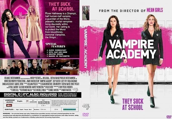 dvd cover Vampire Academy WS R1
