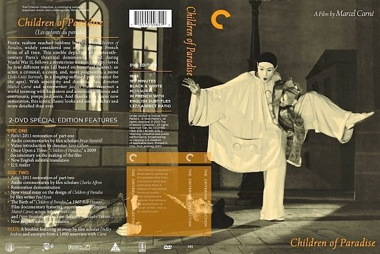 dvd cover Children Of Paradise