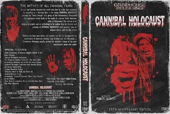 dvd cover Cannibal Holocaust