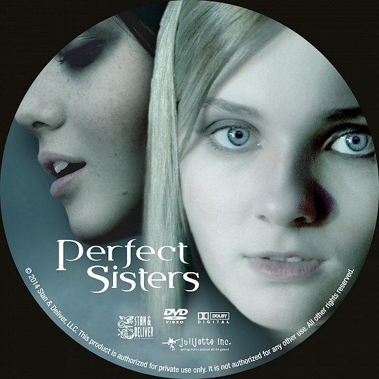 dvd cover Perfect Sisters R0 Custom