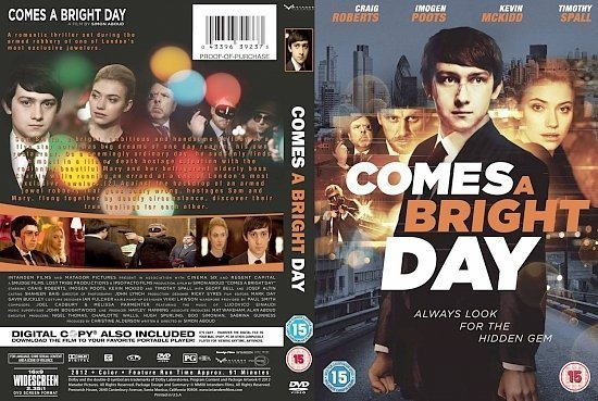 dvd cover Comes A Bright Day