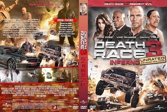 dvd cover Death Race 3