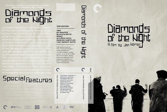 dvd cover Diamonds Of The Night