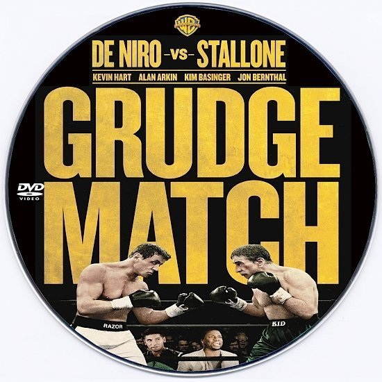 dvd cover Grudge Match Custom DVD Label