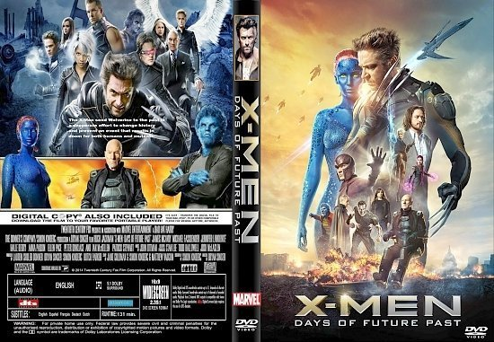 dvd cover X-Men Days of Future Past R0