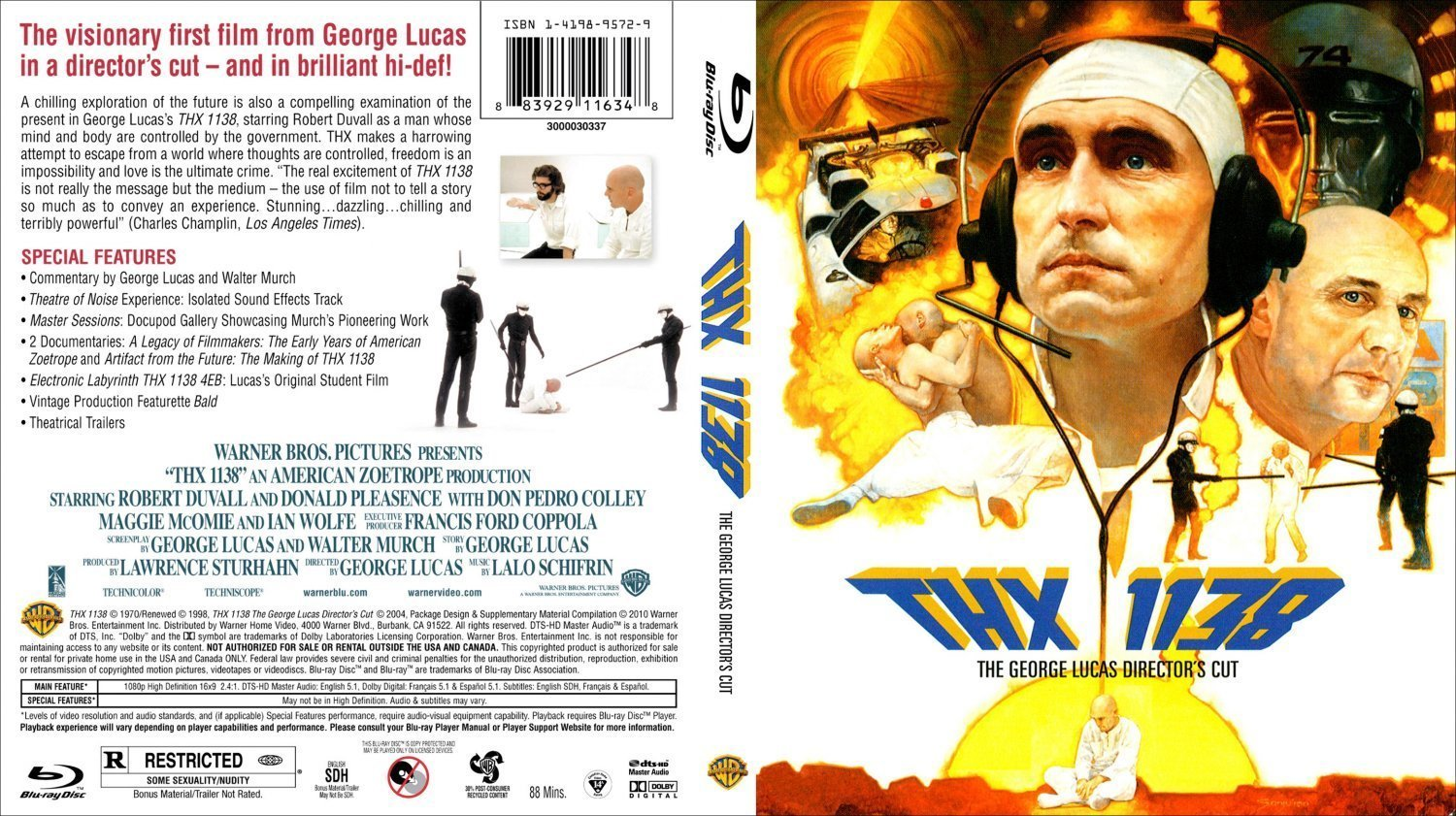 Thx 1138 Dvd Covers And Labels