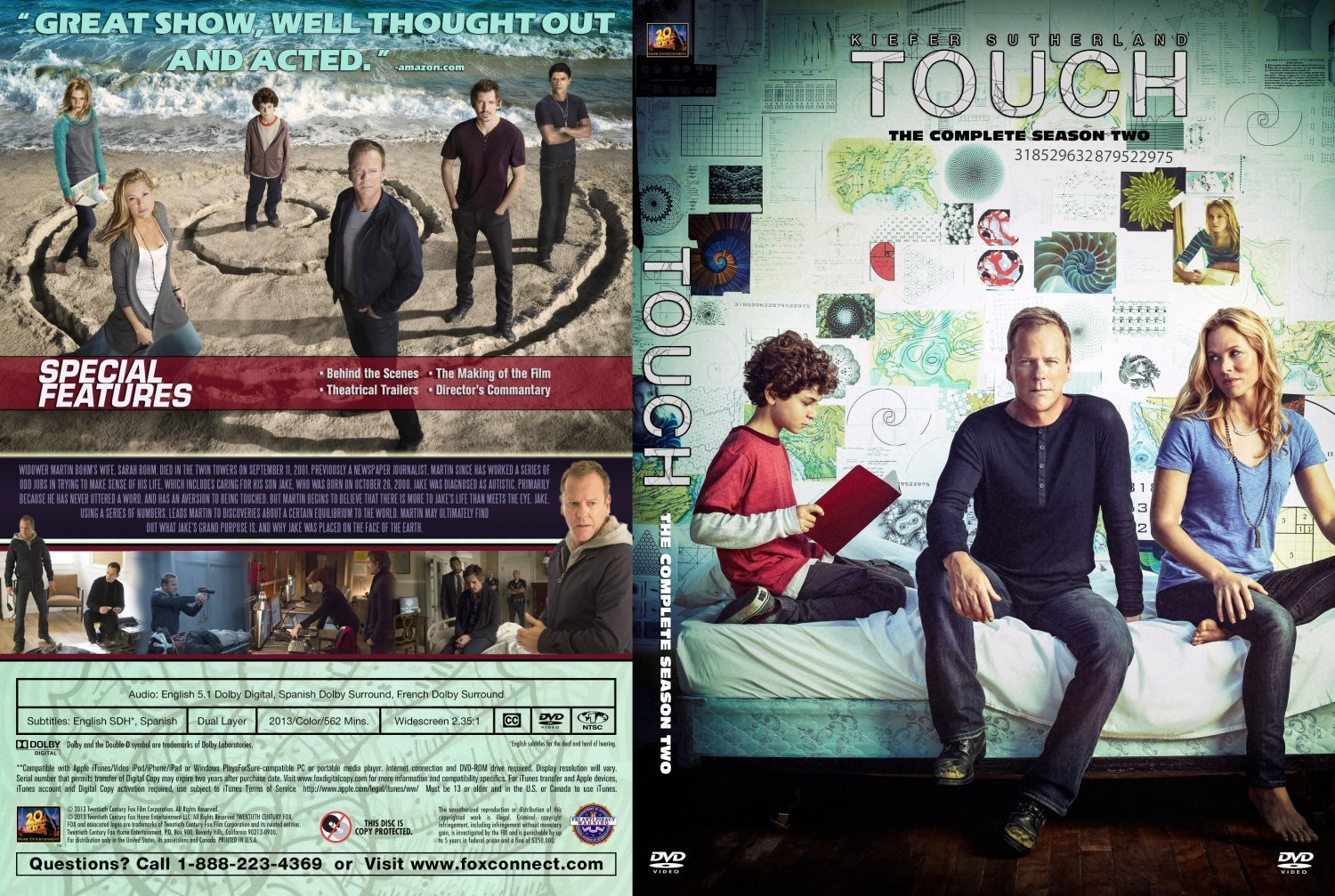 touch season 2 dm | Dvd Covers and Labels