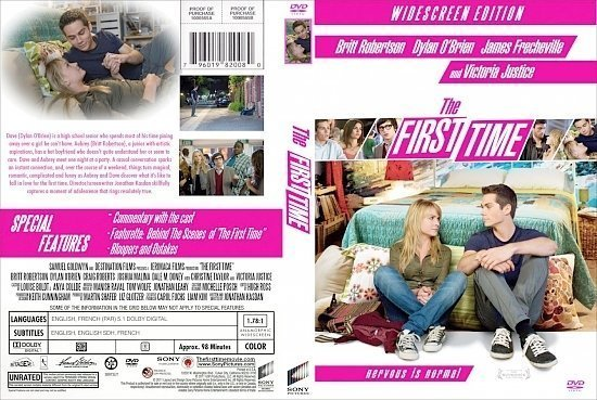 dvd cover The First Time