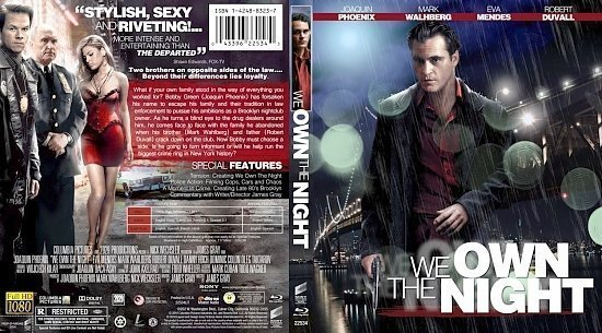 dvd cover We Own the Night5