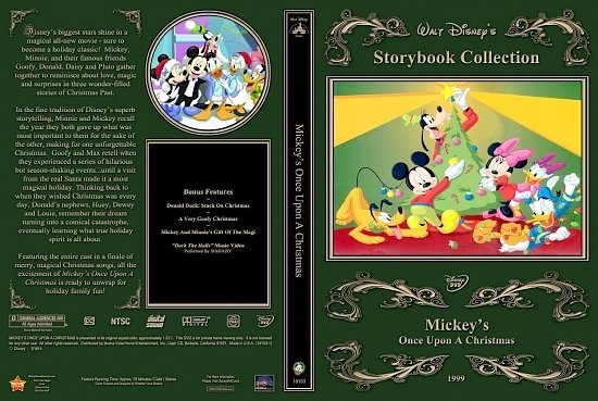 dvd cover Mickey's Once Upon A Christmas