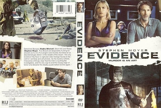 dvd cover Evidence
