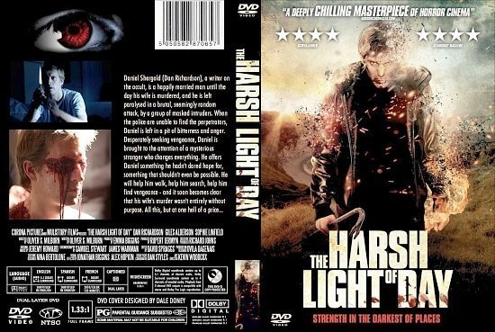 dvd cover The Harsh Light Of Day