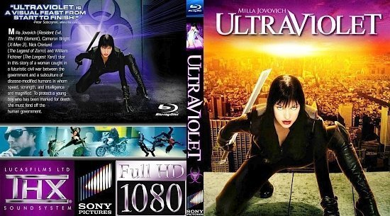 dvd cover ULTRAVIOLET