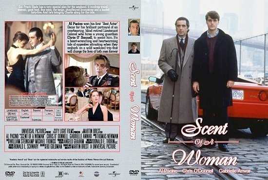 dvd cover Scent Of A Woman