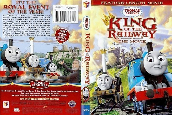 dvd cover Thomas & Friends King Of The Railway