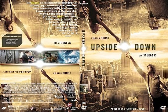 dvd cover Upside Down