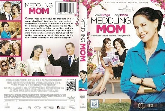 dvd cover Meddling Mom