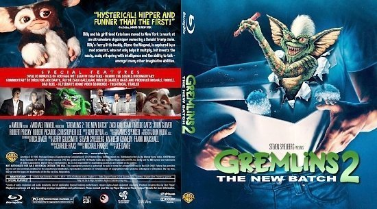 dvd cover Gremlins 2: The New Batch