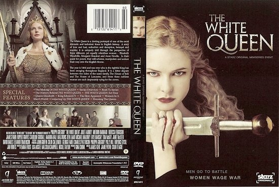 dvd cover The White Queen