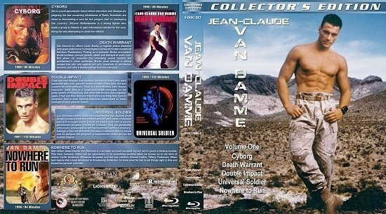 dvd cover Jean Clause Van Damme Collection Vol. 1