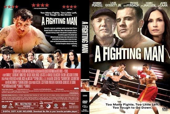 dvd cover A Fighting Man