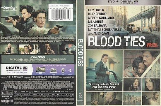 dvd cover Blood Ties