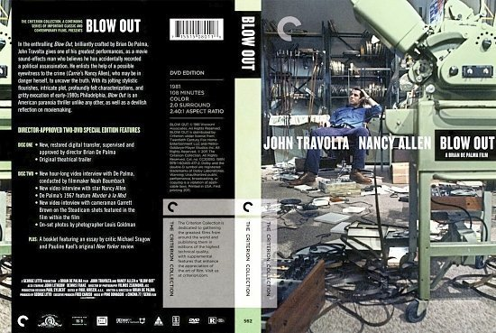 dvd cover Blow Out