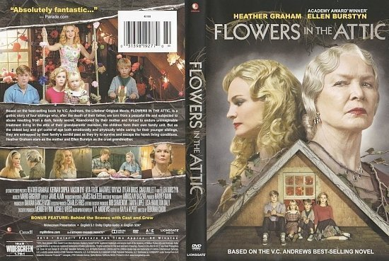 dvd cover Flowers In The Attic Scanned