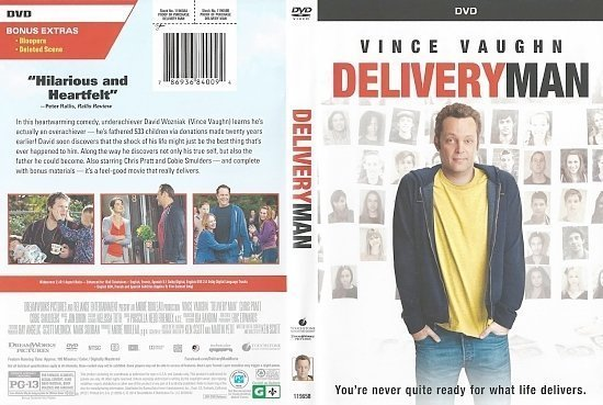 dvd cover Delivery Man Scanned