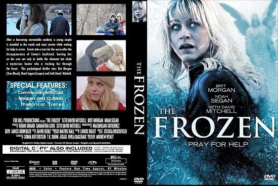 dvd cover The Frozen