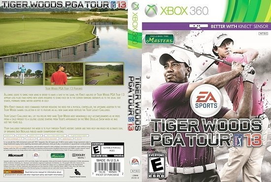 dvd cover Tiger Woods PGA Tour 13 NTSC f